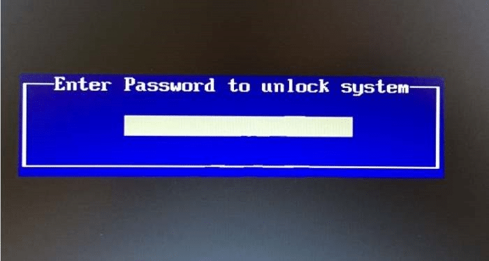 bios password hack