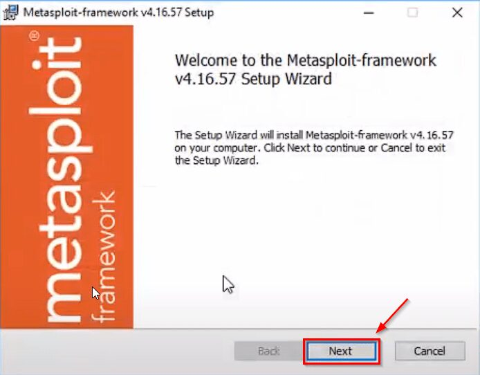 Metasploit Framework In Windows 10