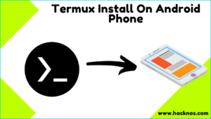 Termux Install On Android Phone