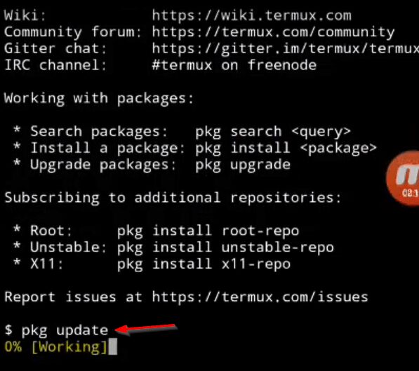 Hack Mobile Camera With Termux