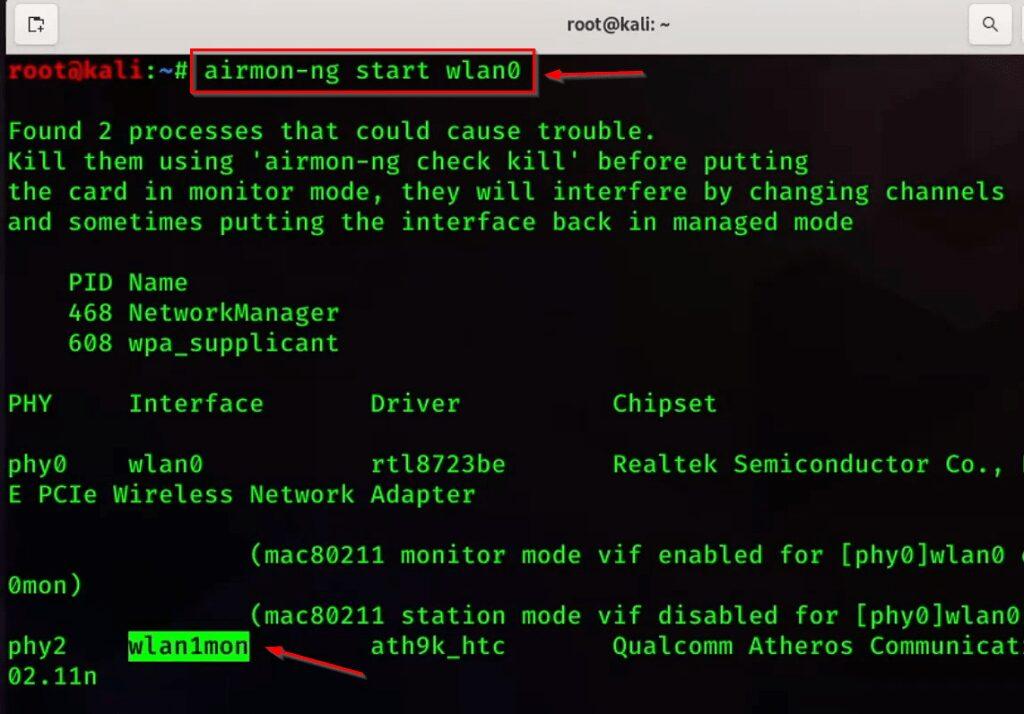 Create Fake WIFI Access Point Kali Linux