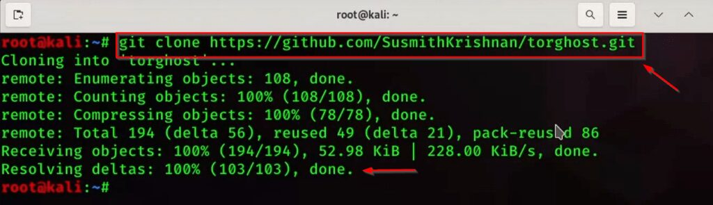 How to hide IP Address Using Torhost Tool