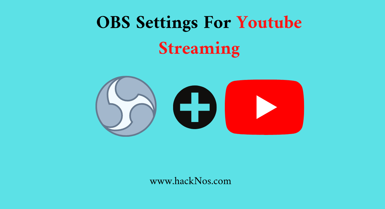 best obs studio setting for youtub