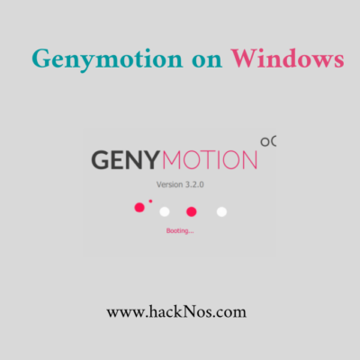 install genymotion on windows