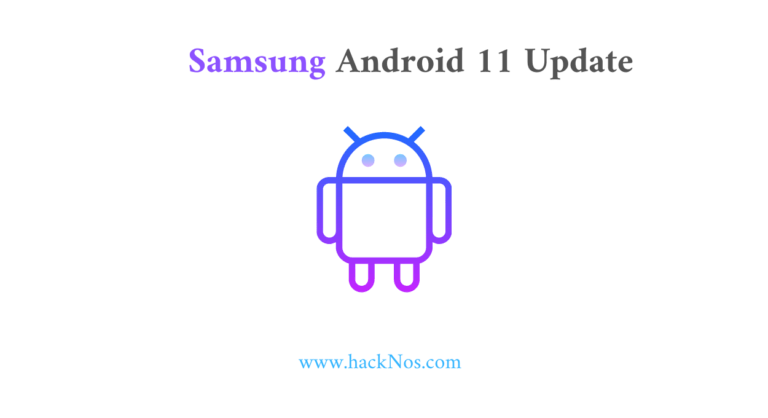 samsung android 11 update