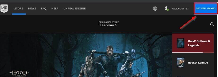 Download and Install Epic Game Store