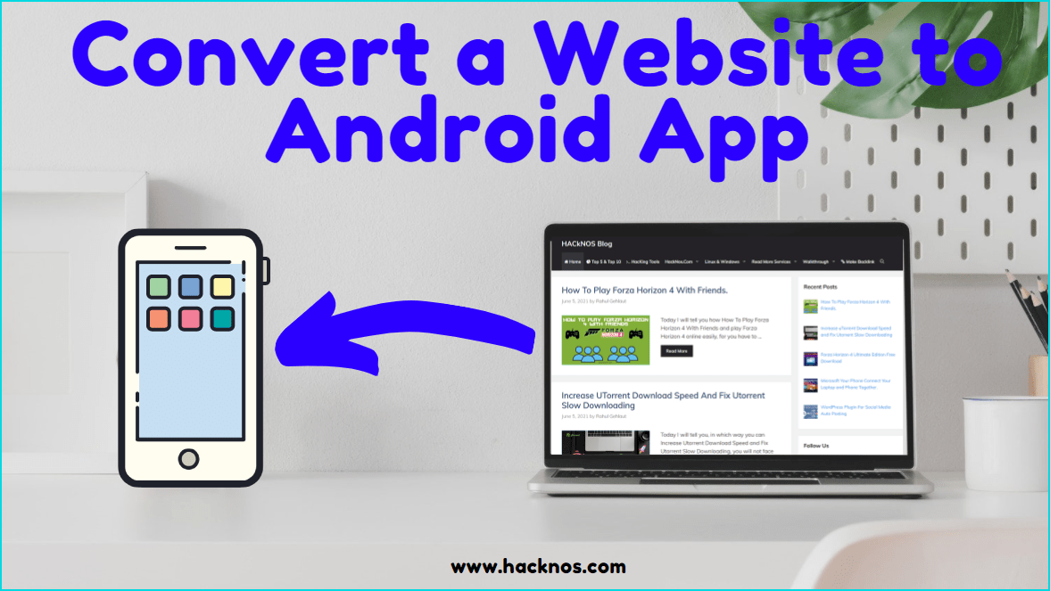 Convert a Website to Android App