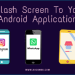Splash Screen To Your Android