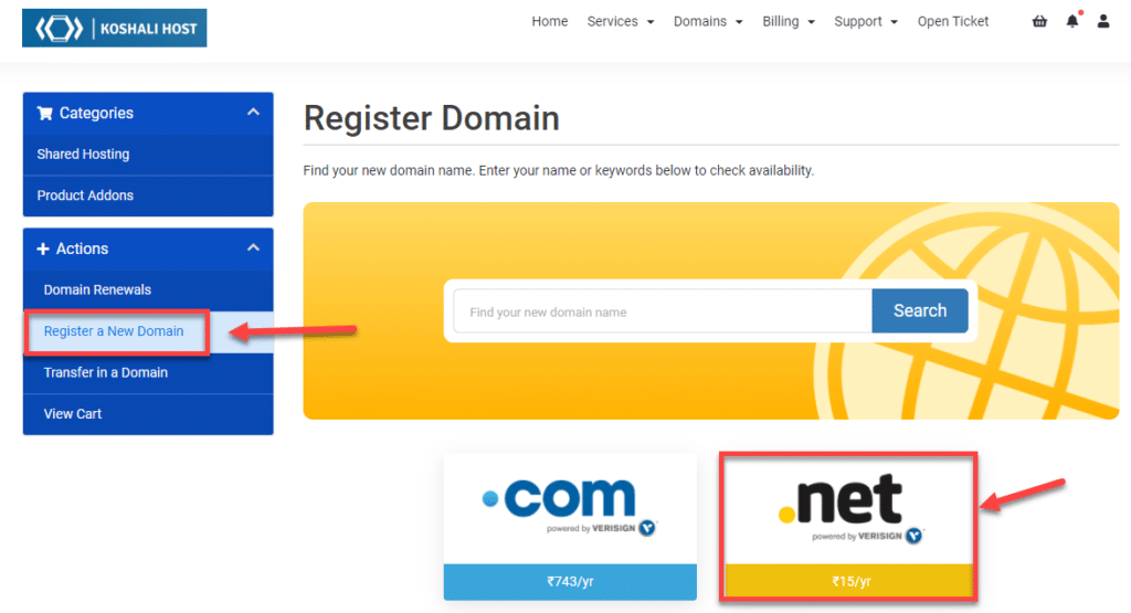 Cheap Domain Registration India