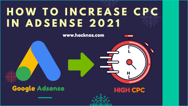 How to Increase CPC in Google Adsense