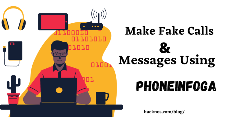 Make Fake Calls and Messages Using Phoneinfoga
