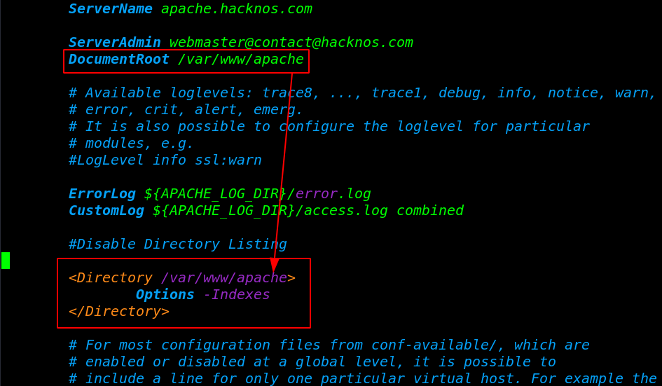 Apache Stop Directory Listing On Ubuntu Server - disable directory listing   Options  Indexes      hackNos