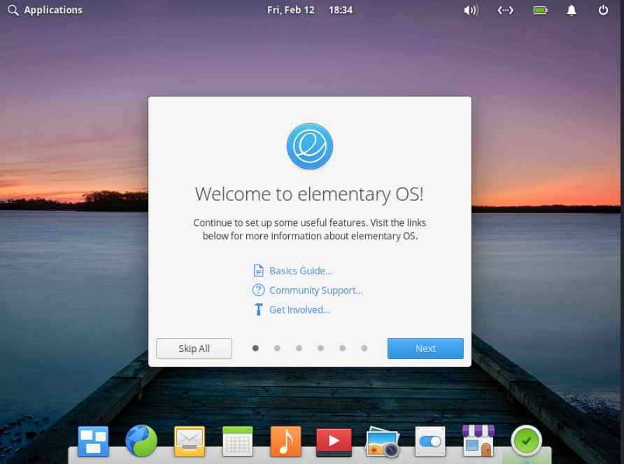 Elementary OS Installation on virtualbox