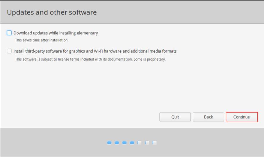 Elementary OS Installation