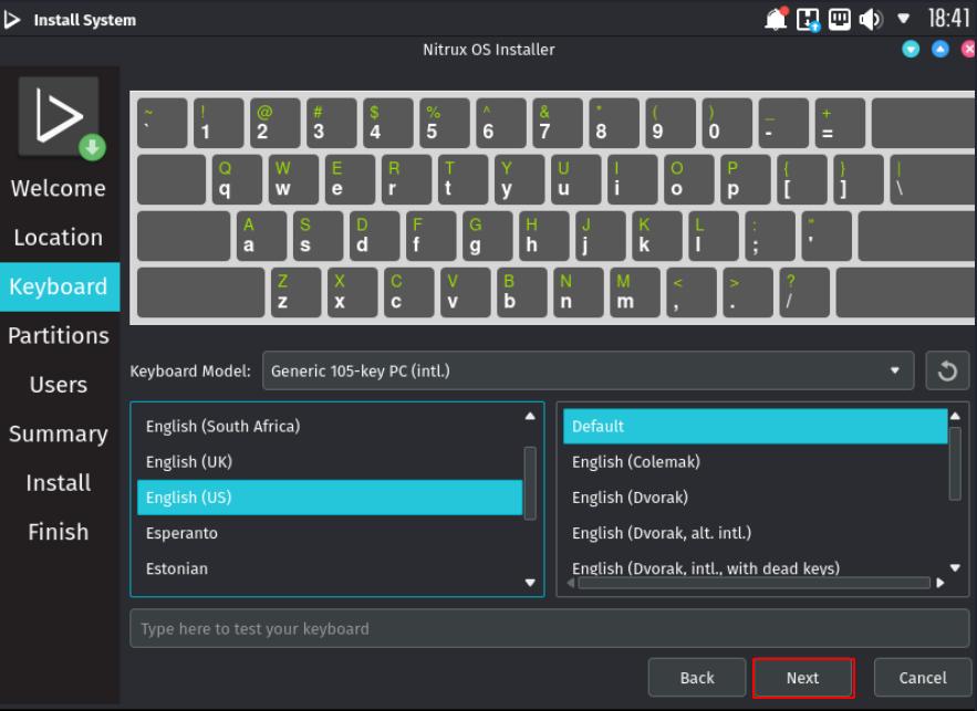 Nitrux OS Installation